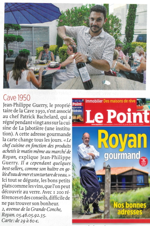 LE POINT ARTICLE + COUV